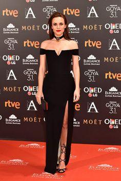 Goya Awards 2017: Aura Garrido in Lorenzo Caprile