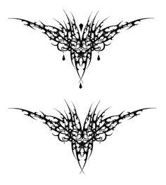 gothic-vampire-hearts-tattoos-designs.jpg (600×672)