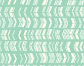 Chevrons in Mint from Deerfield  for Anthology - Half Yard