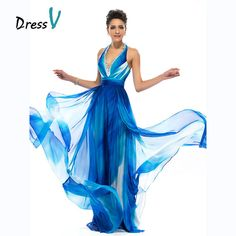 749e0be40266 Sizes Dressv Long Charming Print Pattern Evening Dresses Halter Beaded  Backless Prom Dresses A-line printed long evening dress