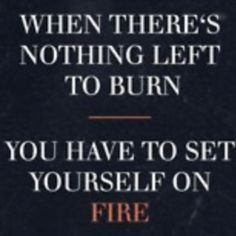Time to find the lighter fluid.........Hint: it's in the gym!