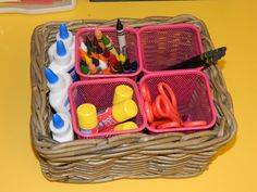 how to organize sunday school supply room | Kindergarten Milestones: Back To School: New Classroom Pics Part Two