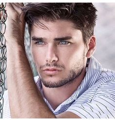 Home of M/M romance author RJ Scott who writes gay romances with a guaranteed happily ever after. Beautiful Men Faces, Gorgeous Men, Eye Candy Men, Scruffy Men, Bedroom Eyes, Beard Styles For Men, Handsome Faces, Male Face, Attractive Men