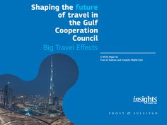 Situated bang smack in the middle of the East and West – The Middle East and countries of the Gulf Cooperation Council (GCC) are poised for unprecedented growth. Find out how travel and tourism are set to become one of the region's most important industries by reading the full report   ‪#‎GCC‬ ‪#‎Travel‬ ‪#‎Insights‬