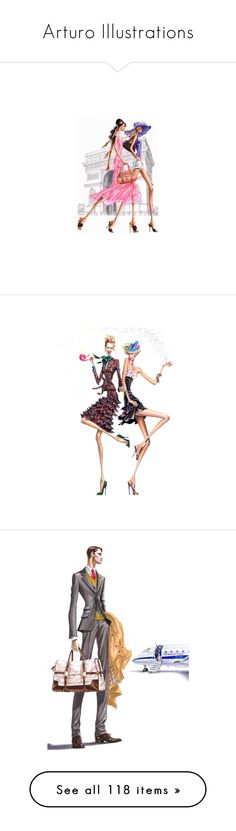 arturo illustrations by wanda india acosta a liked on polyvore featuring arturo sketchfashion illustrationssketching