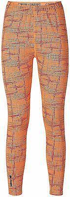 6, orange pop/Magma, ERIMA Women Green Concept Leggings, Womens, Green Concept L