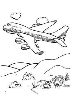 Avion En Coloriage.48 Meilleures Images Du Tableau Coloriages D Avions Coloring Pages