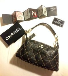 Chanel Surpique Shoulder Bag