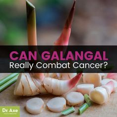 Galangal is anti-cancer, anti-inflammatory, and helps fight infection. A phytonutrient found in galangal suppresses the activity of TNF-alpha and therefore may help reduce inflammation throughout the body. Organic Meat, Eating Organic, Natural Cancer Cures, Natural Cures, Natural Health, High Antioxidant Foods, Cancer Fighting Foods, Cancer Treatment, Smoothie Recipes