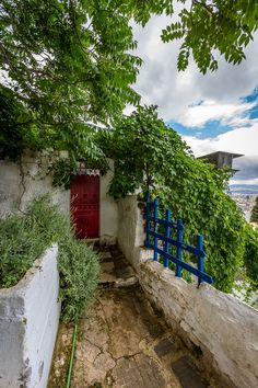 House in Anafiotika, Athens, Greece