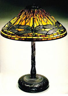 Tiffany Glass - love the dragon flies