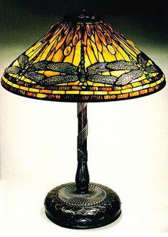 Tiffany Glass - love the dragon flies