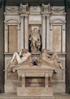 Michelangelo tomb of Giuliano De Medici : La Notte che tu vedi in sì dolci atti dormir, fu da un Angelo scolpita in questo sasso e, perché dorme, ha vita: destala, se nol credi, e parleratti Caro m'è 'l sonno, e più l'esser di sasso, mentre che 'l danno e la vergogna dura; non veder, non sentir m'è gran ventura; però non mi destar, deh, parla basso