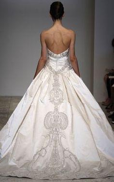 New wedding dresses strapless ballgown fairytale 27 Ideas Beautiful Wedding Gowns, Dream Wedding Dresses, Beautiful Dresses, Wedding Designs, Wedding Styles, Trendy Wedding, Princess Wedding, Princess Style, Wedding Attire