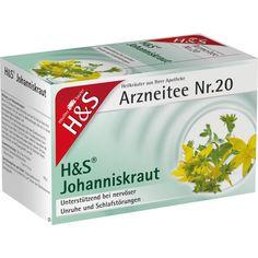 H&S Johanniskraut Filterbeutel:   Packungsinhalt: 20 St Filterbeutel PZN: 02486136 Hersteller: H&S Tee - Gesellschaft mbH & Co. Preis:…