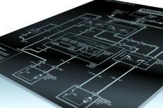 Gravograph - Graviermaterial - Metalle Laser/CNC - DuraBlack