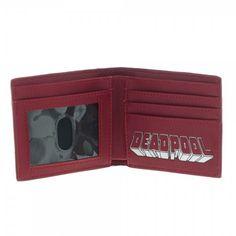 Marvel Deadpool Bi Fold Wallet with Studs