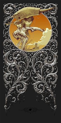 Illustrations with Typography – Aaron Horkey Art And Illustration, Graphic Design Illustration, Illustrations Posters, Graphic Art, Fantasy Kunst, Fantasy Art, Kunst Poster, Vector Art, Illustrators