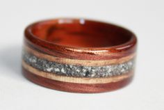 Touch Wood Keepsakes - Hand crafted Memorial Rings and Pins. Lovingly inlaid cremains.
