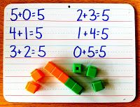 Kinder-Craze: A Kindergarten Blog: Getting Interactive with the Common Core: Decomposing Numbers