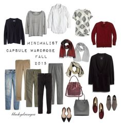 """Minimalist Capsule Wardrobe - Fall 2015"" by bluehydrangea ❤ liked on Polyvore featuring J.Crew, Madewell, Boden, Banana Republic, Zara, Rêve D'un Jour, Roberto Cavalli, Lost & Found and SEVENTY"