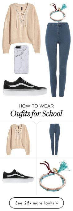 """School Look"" by em-34 on Polyvore featuring Billabong and Vans"