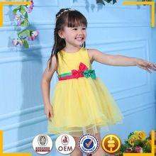 Guangzhou roupas por atacado de flores vestido de princesa meninas meninas puffy vestidos