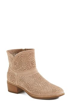 New love   Ugg perforated booties.