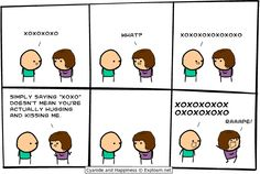 Cyanide and Happiness, a daily webcomic... I tried so hard not to laugh out loud at my desk. HAHAHA =X