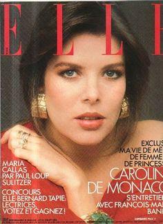 Princess Caroline  -  Elle France July 1986