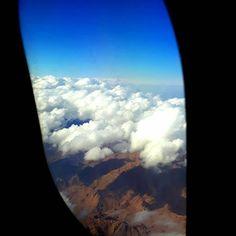 Obraz może zawierać: chmura, niebo, samolot, przyroda i na zewnątrz Airplane View, Instagram