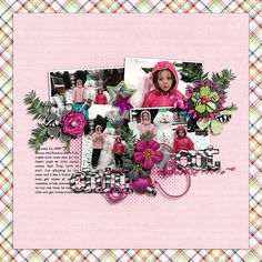 Digital Scrapbook Layout by Elizabeth | Hip Holiday Kit | Bella Gypsy Designs