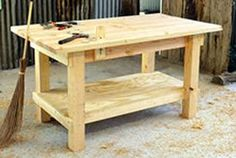 Woodworking Bench Plans Check out my woodworking site at www.WoodworkerPlans.org for more woodworking information.