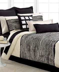 Echo Bedding, Brushstroke Comforter Sets - Bedding Collections - Bed & Bath - Macy's