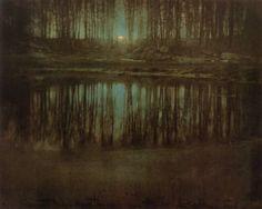 Edward Steichen, Moonrise- Mamaroneck, New York 1904