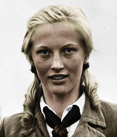 Ilse joined the Bund Deutscher Mädel also known as the BDM (League of German Girls) at the age of 16.