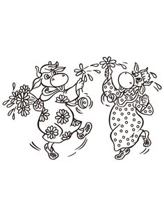 """[fancy_header3]Like this cute coloring book page? Check out these similar pages:[/fancy_header3][jcarousel_portfolio column=""""4"""" cat=""""cow"""" showposts=""""50"""" scroll=""""1"""" wrap=""""circular"""" disable=""""excerpt,date,more,visit""""]"""