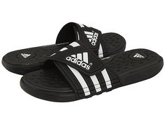 the latest 30e43 433bd Adidas adissage sc black running white black