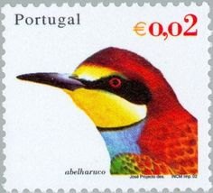 Znaczek: Birds. Abelharuco (Portugalia) (Birds of Portugal) Mi:PT 2567,Sn:PT 2465,Yt:PT 2549,Afi:PT 2844
