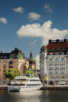 Strandvägen in Stockholm, Sweden
