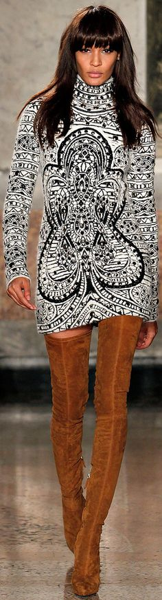 Oh my wow, I want to wear this. And then I probably should just jet off to NY. Emilio Pucci F/W 2013-2014