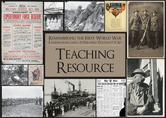 This teaching resource aims to raise awareness of the impacts and causes of the First World War. It is focused on Canterbury and Christchurch's… Anzac Day For Kids, Military Service, First World, Teaching Resources, World War, Cover, Ideas, Blankets, Thoughts