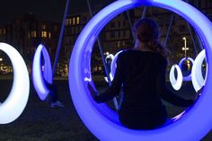 Höweler + Yoon Architecture, Swing Time, Public Space, Boston, 2014.