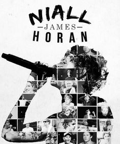 Niall Horan- I think this is my faveorite picture/collage I have seen of Nialler