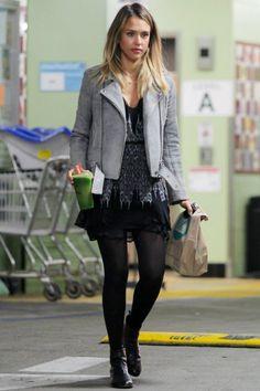 Jessica Alba Whole Foods January 13 2015 | Star Style - Celebrity Fashion