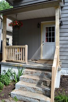 Painting a concrete porch – NewlyWoodwards