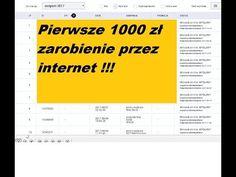 Jak zarobić 1080 zł przez internet po miesiącu? - YouTube