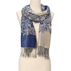 Beautifully Designed Ladies Blend soft Pashmina Scarf