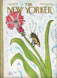 The New Yorker, cover August  1966  by  William Steig