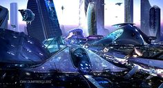 Future City by Joan Dumitrescu 2012